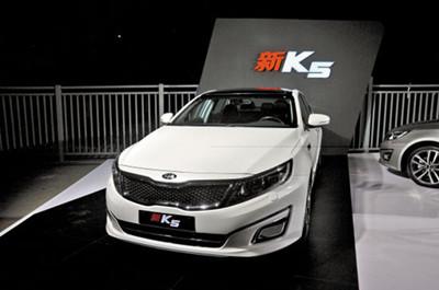 东风悦达起亚K5新增2.0T动力