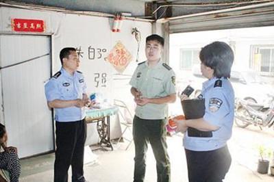 天桥大队联合多部门开展辖区消防车通道专项整治行动