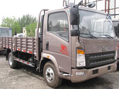豪沃轻卡载货车