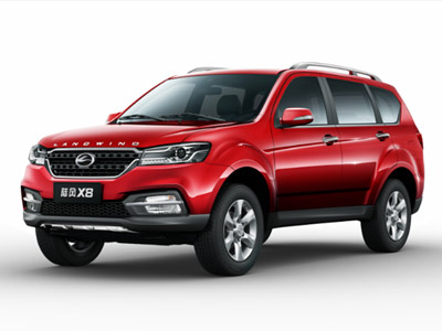 陆风新款X8将上市广州车展 两种动力八款车型抢先知