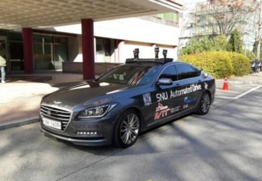 首尔国立大学推出自动驾驶出租车