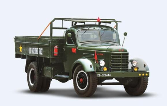 盘点曾经风光无限的国产长头卡车