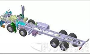 定位中高端 主打轻量化 大运N9-8×4载货车即将上市