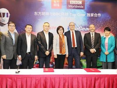 东方明珠新媒体独家引入顶级IP《TOP GEAR》
