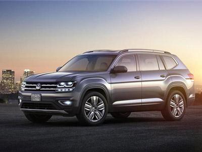 大众大型SUV Atlas或将在欧洲出售