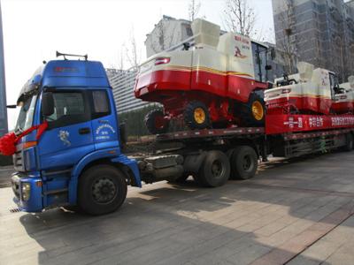 中国收获机械出口第一大单花落雷沃 800台雷沃谷物联合收割机发运苏丹
