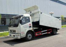 程力自卸式垃圾车的特点