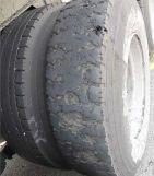 半挂车轮胎磨损的原因
