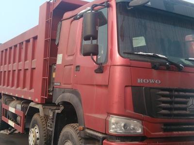 豪沃国二371马力7.8米自卸车促销