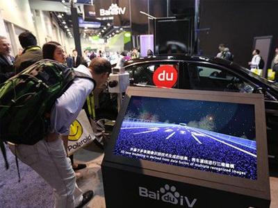 百度智能汽车:人工智能让自动驾驶可能提早量产