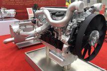 真是5缸柴油机!MC09首次亮相重汽年会