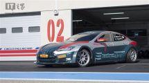 为比赛而生特斯拉发布最强ModelSGT赛车2.1秒破百