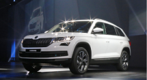 4月份的上海车展上斯柯达将会推出SUV车型柯迪亚克上市