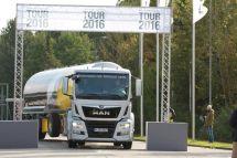 曼恩新款TG车型在欧洲巡展中隆重亮相