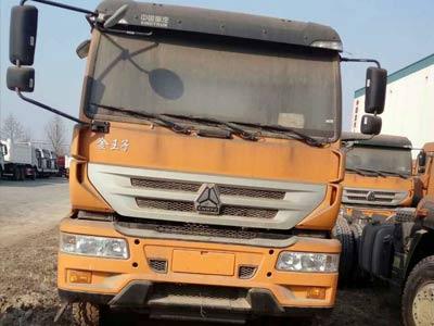 金王子国四自卸车可做5.5米5.6米大箱