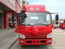 金华解放轻卡J6F载货车底盘仅售11.3万