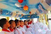 山东莱西:全国首批3D科普主题校车上线打造第二课堂
