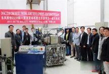 东风首台ZD30国六发动机在上海台架点火成功