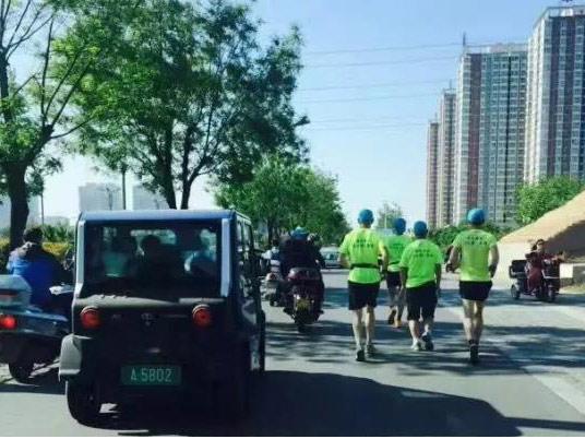 传递绿色低碳理念 大阳巧客护航健康跑活动