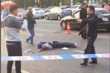 大连发生重大车祸老人开路虎冲上人行道多名学生被撞飞