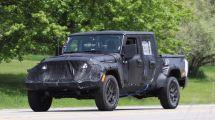 Jeep全新牧马人皮卡版谍照曝光有望明年上市