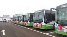 """长沙:""""油改电""""助公交绿色出行"""