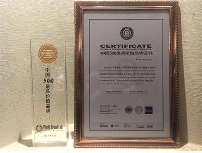 中国500最具价值品牌揭晓 双星蝉联轮胎行业榜首
