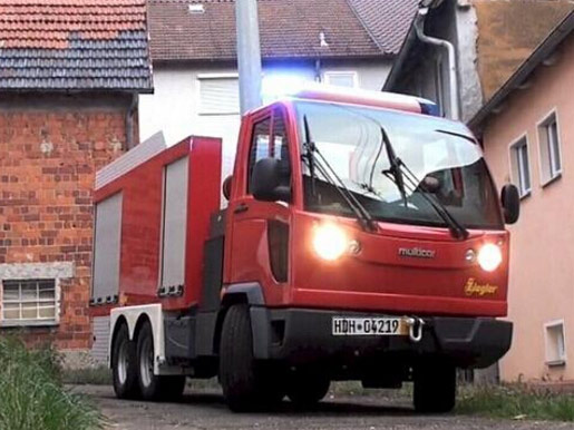 你一定没见过 世界最小型三轴消防车