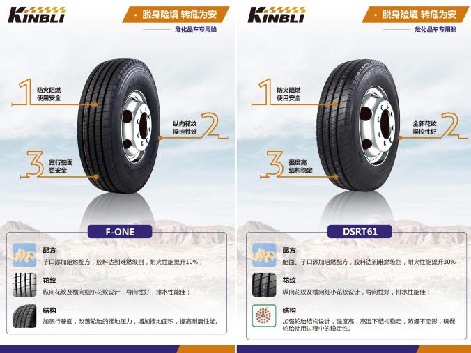 双星KINBLI(劲倍力)——危化品专用轮胎的秘密武器