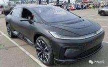 贾跃亭的汽车梦,FF91在加州路试了