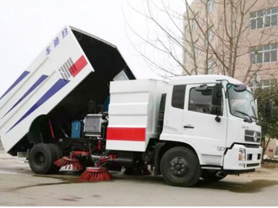 东风6吨扫路车有哪些操作须知