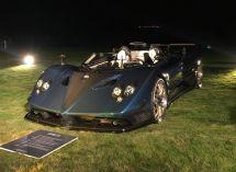 帕加尼在圆石滩发布新车ZondaHPBarchetta限量3台