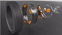 大陆集团公布创新概念车轮设计专用于电动汽车