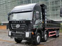 红岩杰狮C500自卸车批量交付新疆用户