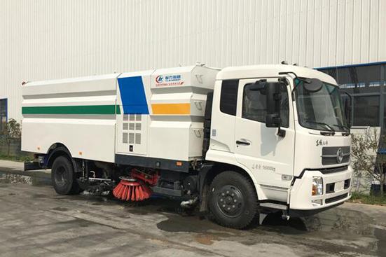 东风天锦8吨洗扫车参数配置_图片_价格_视频---洗扫车厂家