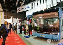 ECO诠释高端制造金龙客车亮相2017比利时客车博览会