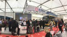 """中国中车""""ACE绿色智能交通整体方案""""惊艳比利时客车展"""