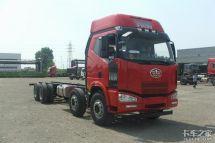 自重8.4吨解放8×4载货车用后气囊悬挂