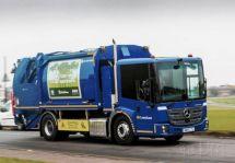 奔驰Econic电动压缩式垃圾车在伦敦投用