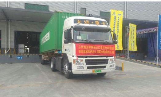 沃特玛创新联盟重卡试车成功 深圳将首次使用纯电动牵引车