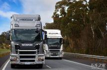 配双挂车重74吨斯堪尼亚新车澳洲测试