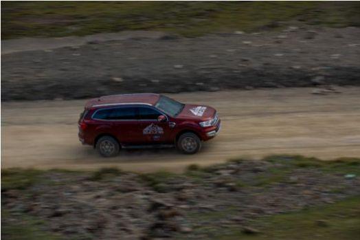 全时四驱模式福特撼路者 致力更安全的越野方式
