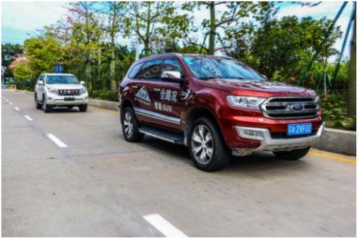 福特撼路者诠释全能实力派SUV 越野可媲美普拉多