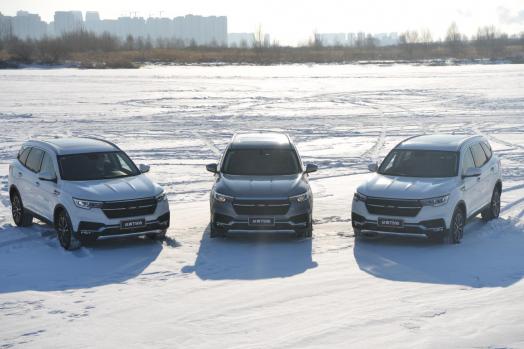 全新众泰T500带你开启冰雪试驾之旅