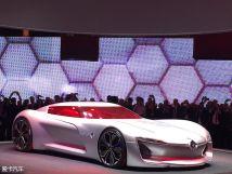 雷诺两款概念车3月7日国内亮相很激进