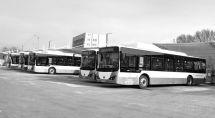 太原首个公交充电场站充电站完成送电