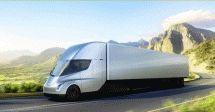 一年后正式上市特斯拉无人卡车进行最后的货运测试