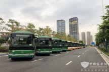迎189辆金龙纯电动公交佛山开启公交电动化新序幕