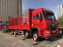 中国重汽豪翰J6G·质轻版8X4载货车上市