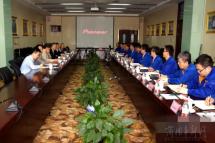 法士特获陕西省国资委党委书记邹展业称赞
